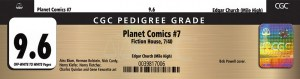 pedigree-label-300x79 A Pedigree Could Add Considerable Value to Your Comic Book