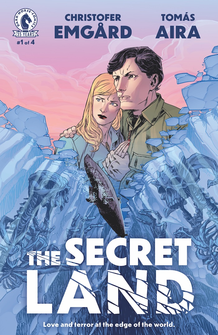 secretlandcov Cosmic horror and war will mix in THE SECRET LAND