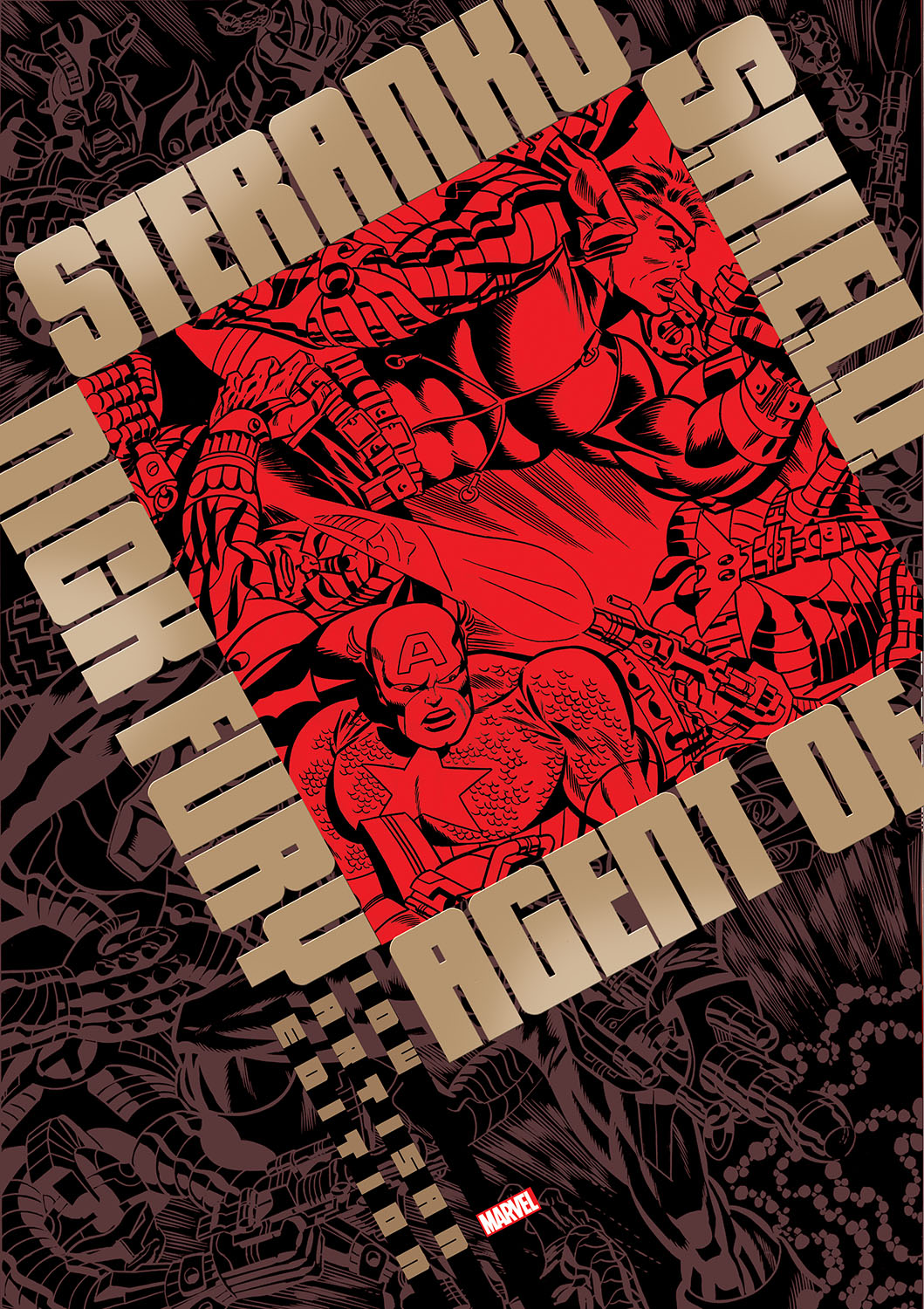 steranko-artisan-cover-copy IDW Publishing June 2021 Solicitations