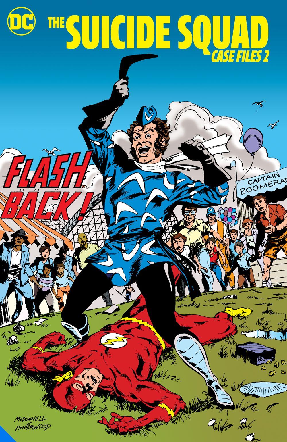 thesuicidesquadcasefiles2_adv DC Comics June 2021 Solicitations