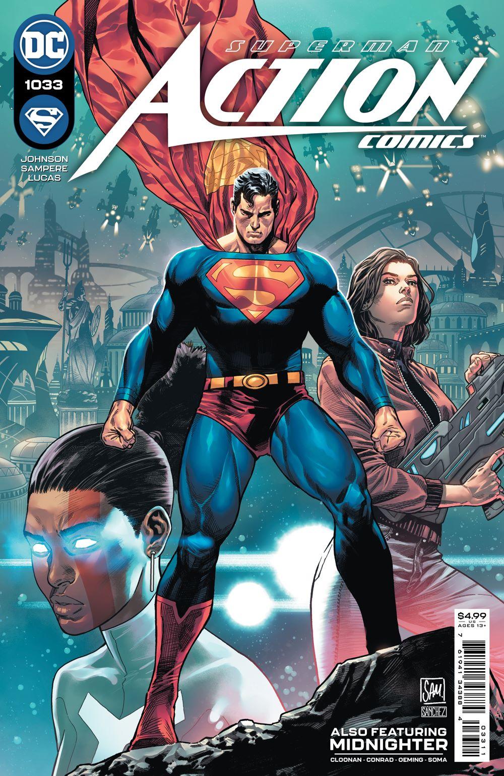 ACTIONCOMICS_Cv1033_NEWLOGO DC Comics July 2021 Solicitations