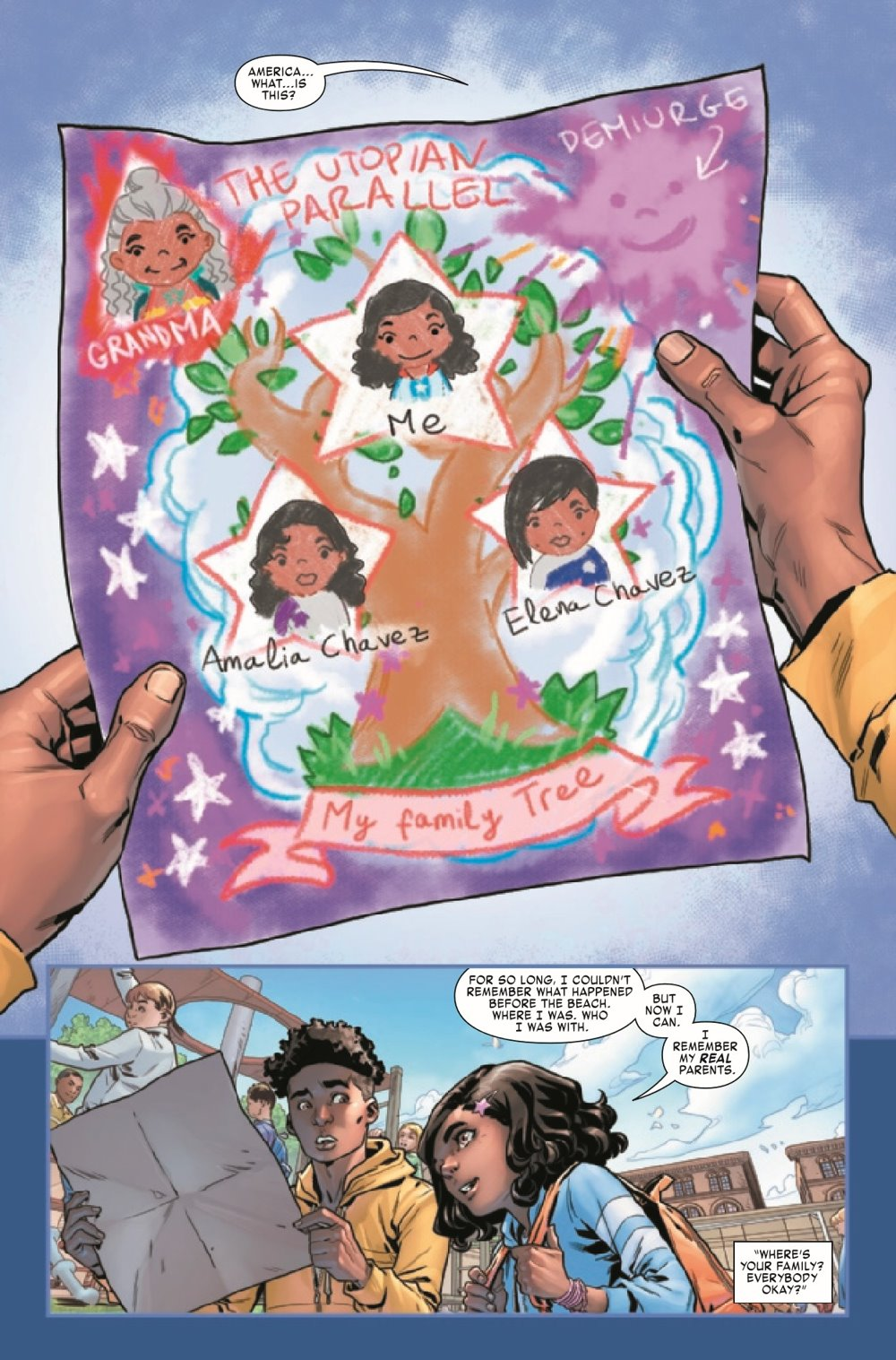AMERCHAVEZUSA2021002_Preview-4 ComicList Previews: AMERICA CHAVEZ MADE IN THE U.S.A. #2 (OF 5)