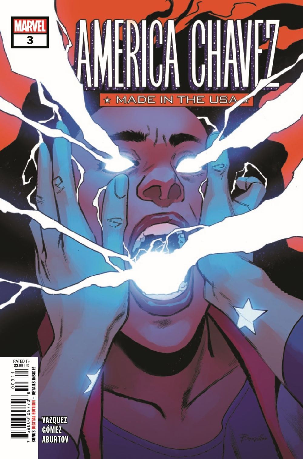 AMERCHAVEZUSA2021003_Preview-1 ComicList Previews: AMERICA CHAVEZ MADE IN THE U.S.A. #3 (OF 5)