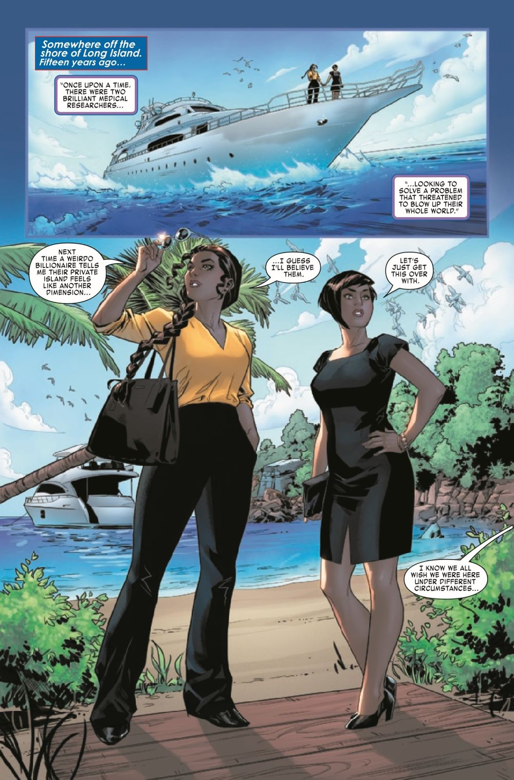 AMERCHAVEZUSA2021003_Preview-3 ComicList Previews: AMERICA CHAVEZ MADE IN THE U.S.A. #3 (OF 5)