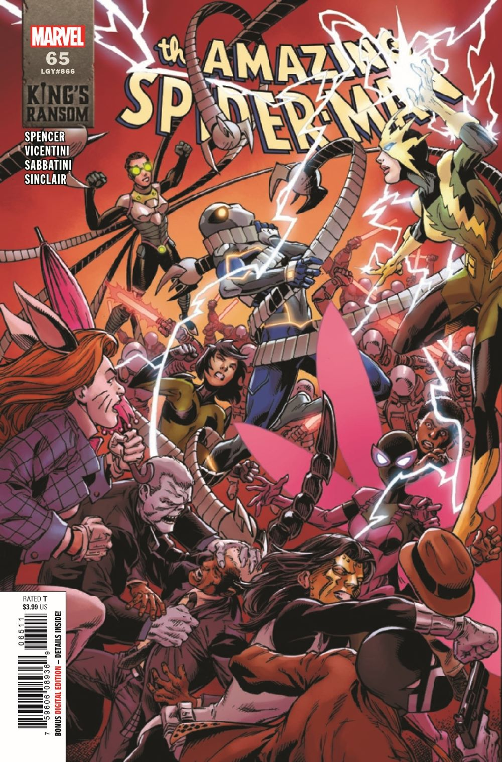 ASM2018065_Preview-1 ComicList Previews: THE AMAZING SPIDER-MAN #65