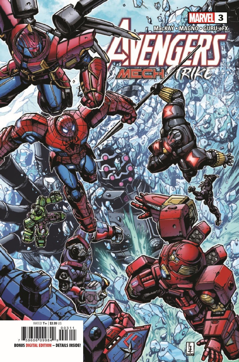 AVENMECHST2021003_Preview-1 ComicList Previews: AVENGERS MECH STRIKE #3 (OF 5)
