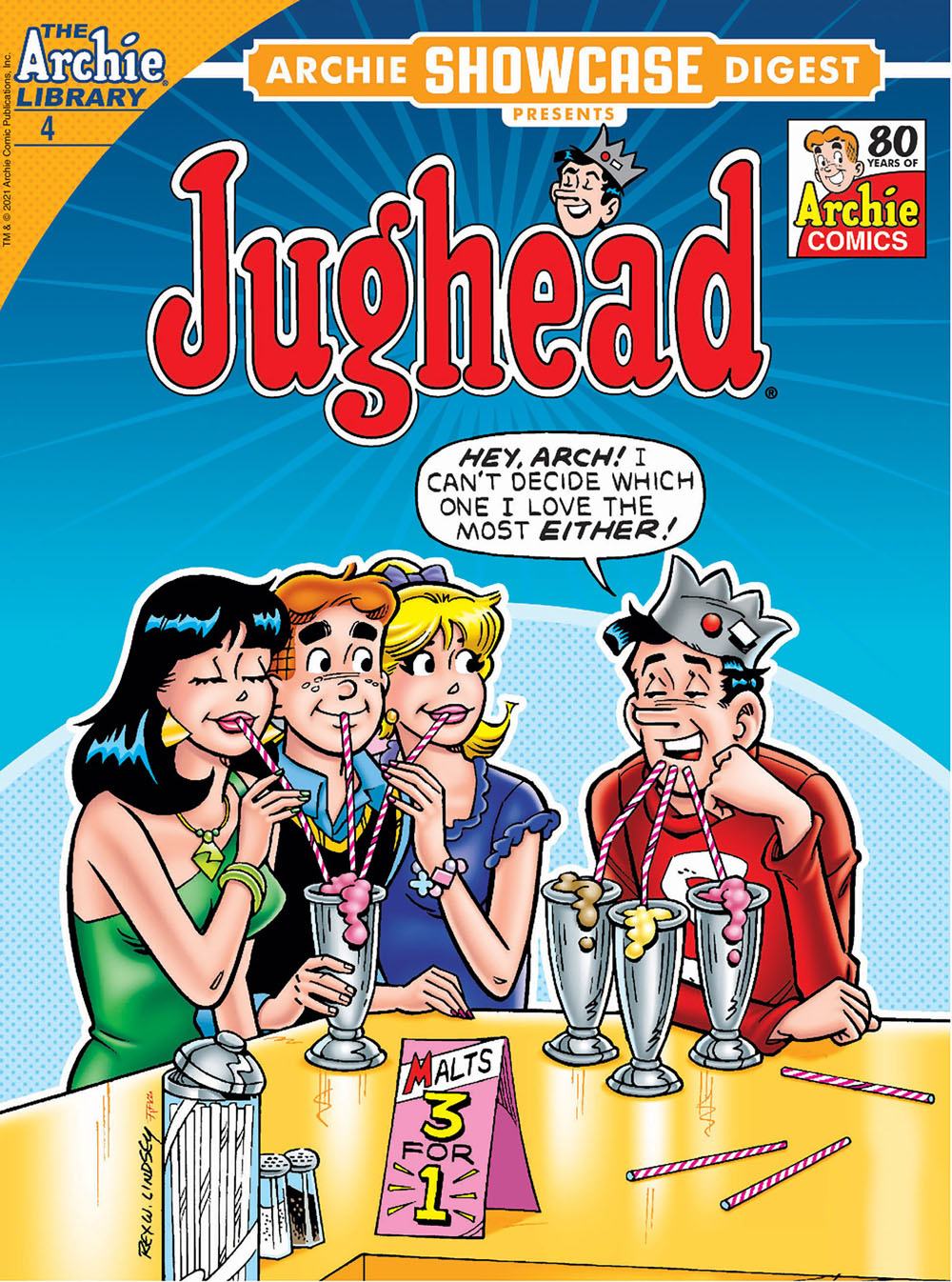 ArchieShowcase4 Archie Comic Publications July 2021 Solicitations