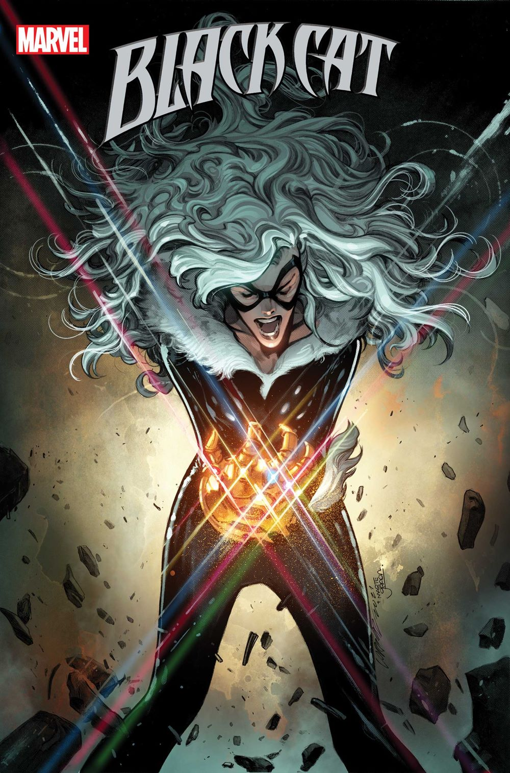 BLACKCAT2020008_cov Marvel Comics July 2021 Solicitations