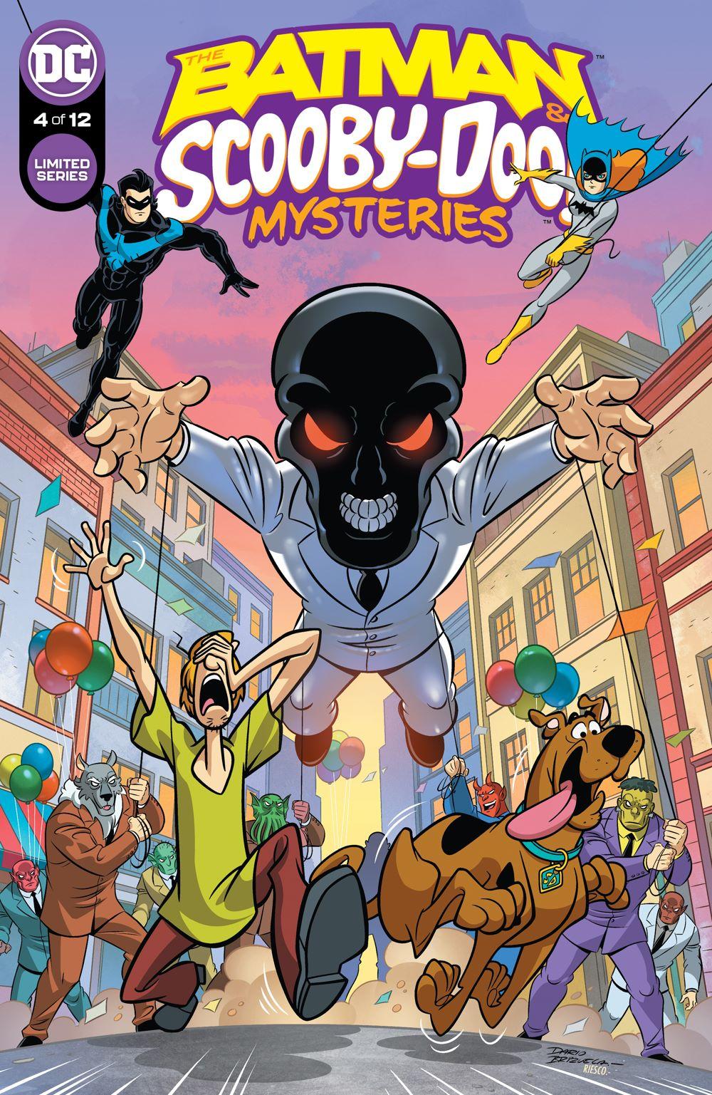 BMSCOOBY_Cv4 DC Comics July 2021 Solicitations