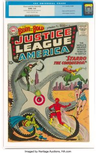 Brave-and-the-Bold-28-CGC-3-0-189x300 Mike Sekowsky Charter Member: Justice League of America