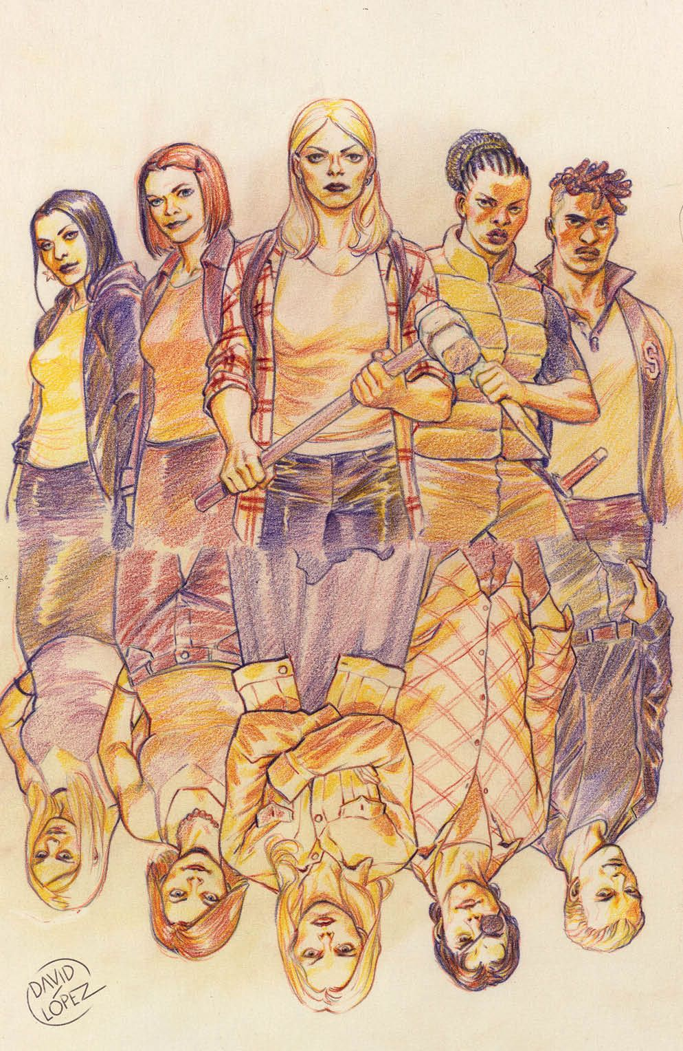 Buffy_024_Cover_D_Variant ComicList Previews: BUFFY THE VAMPIRE SLAYER #24