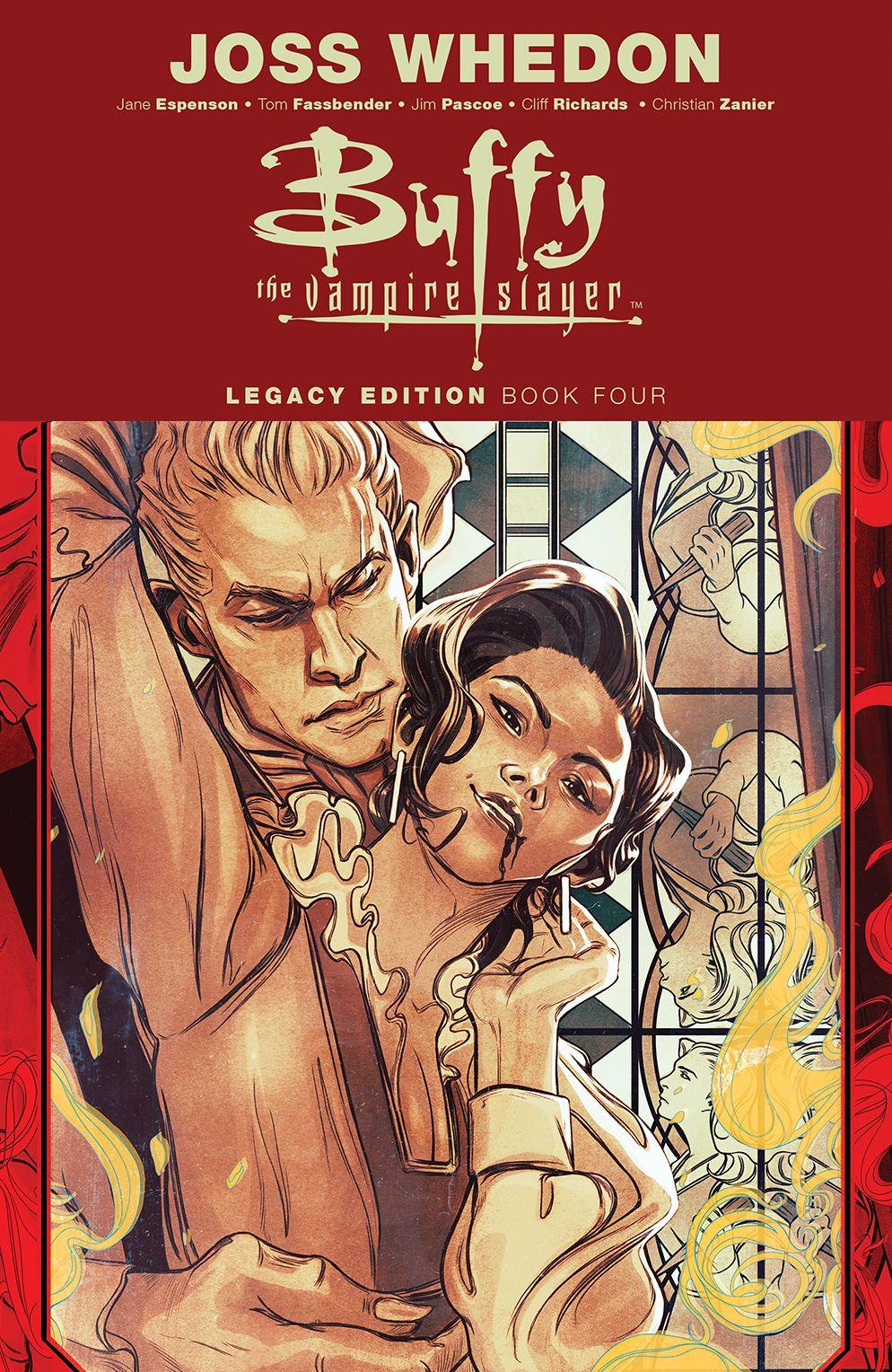 Buffy_Legacy_v4_SC_Cover ComicList Previews: BUFFY THE VAMPIRE SLAYER LEGACY EDITION VOLUME 4 SC