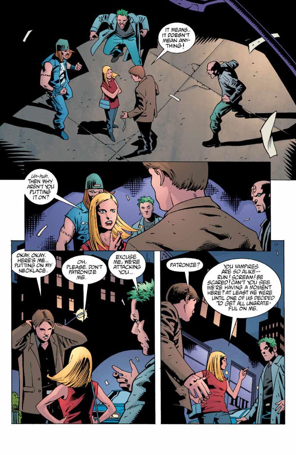 Buffy_Legacy_v4_SC_PRESS_11 ComicList Previews: BUFFY THE VAMPIRE SLAYER LEGACY EDITION VOLUME 4 SC