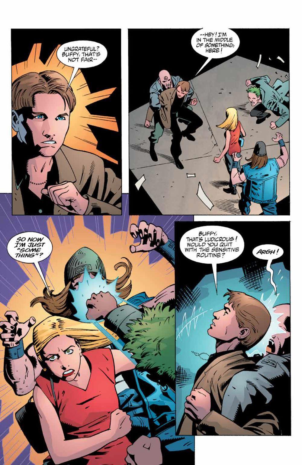 Buffy_Legacy_v4_SC_PRESS_12 ComicList Previews: BUFFY THE VAMPIRE SLAYER LEGACY EDITION VOLUME 4 SC
