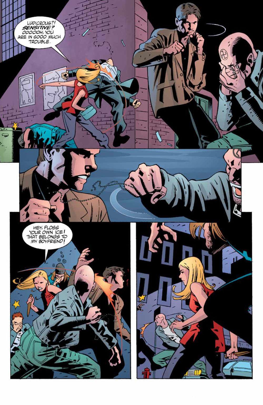 Buffy_Legacy_v4_SC_PRESS_13 ComicList Previews: BUFFY THE VAMPIRE SLAYER LEGACY EDITION VOLUME 4 SC