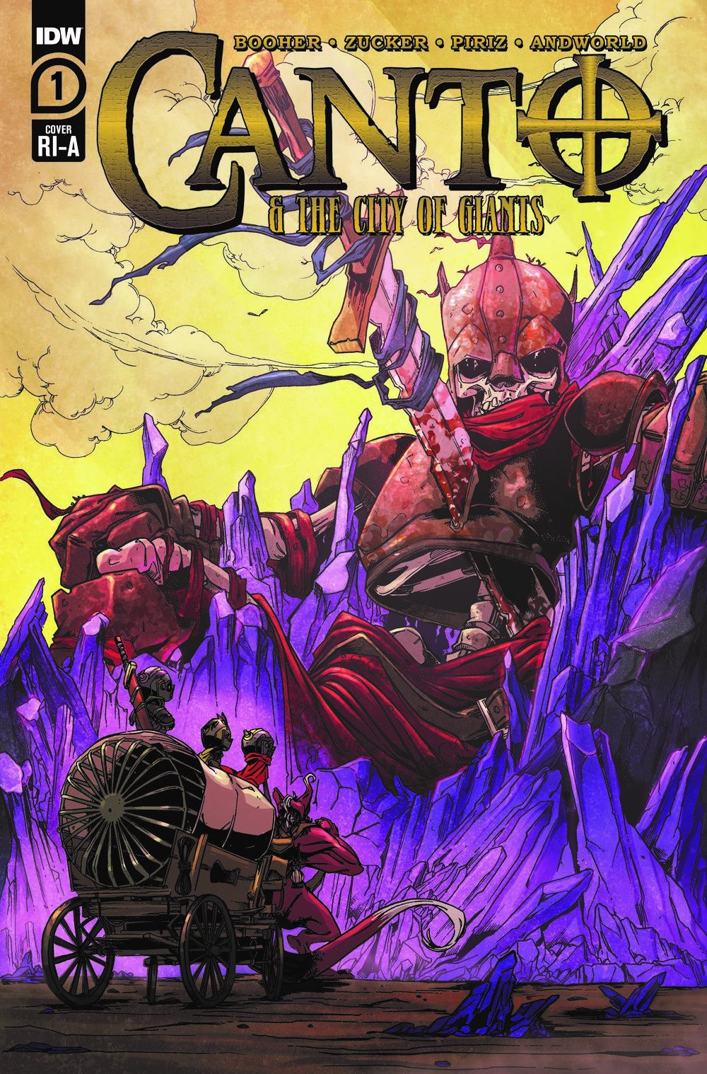Canto-CoG01_cvrRI-A ComicList: IDW Publishing New Releases for 04/14/2021