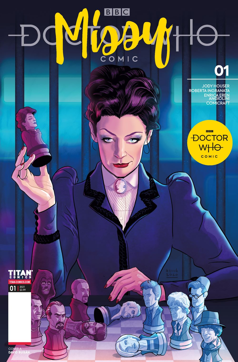 DW_Missy_1_01_COVER_FINAL_Page_1 ComicList Previews: DOCTOR WHO MISSY #1
