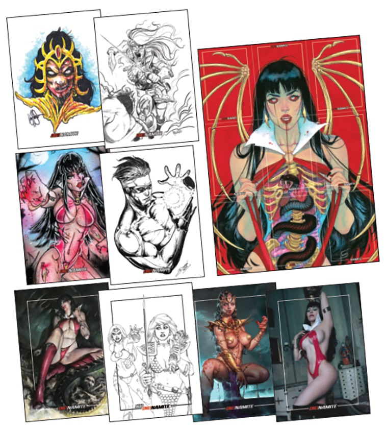 Dienamite-Cards Dynamite Entertainment July 2021 Solicitations