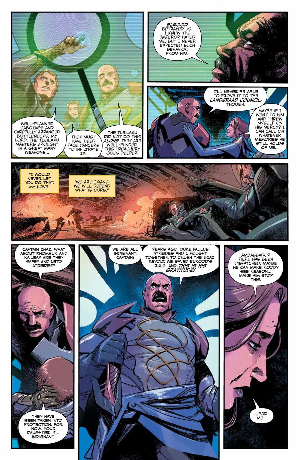 Dune_HouseAtreides_006_PRESS_4 ComicList Previews: DUNE HOUSE ATREIDES #6 (OF 12)