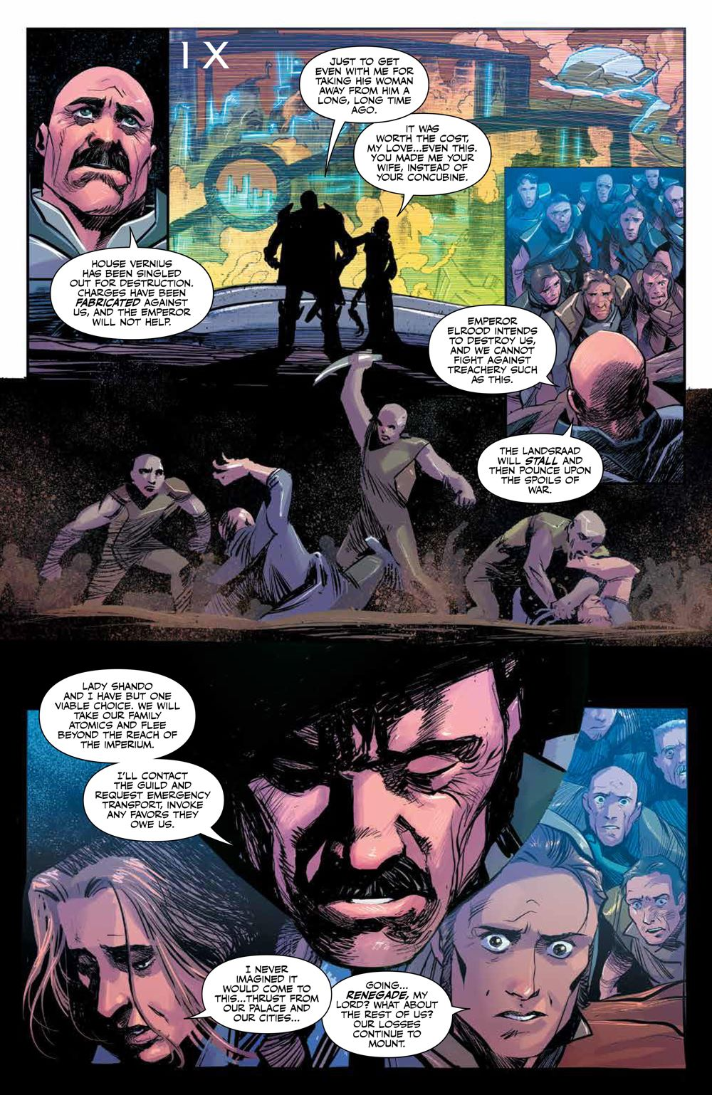 Dune_HouseAtreides_006_PRESS_8 ComicList Previews: DUNE HOUSE ATREIDES #6 (OF 12)