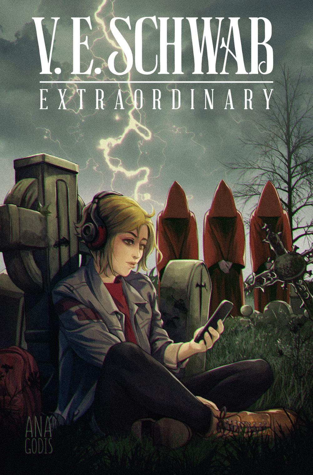 EXTRAORDINARY-2C-ANA-GODIS Titan Comics July 2021 Solicitations