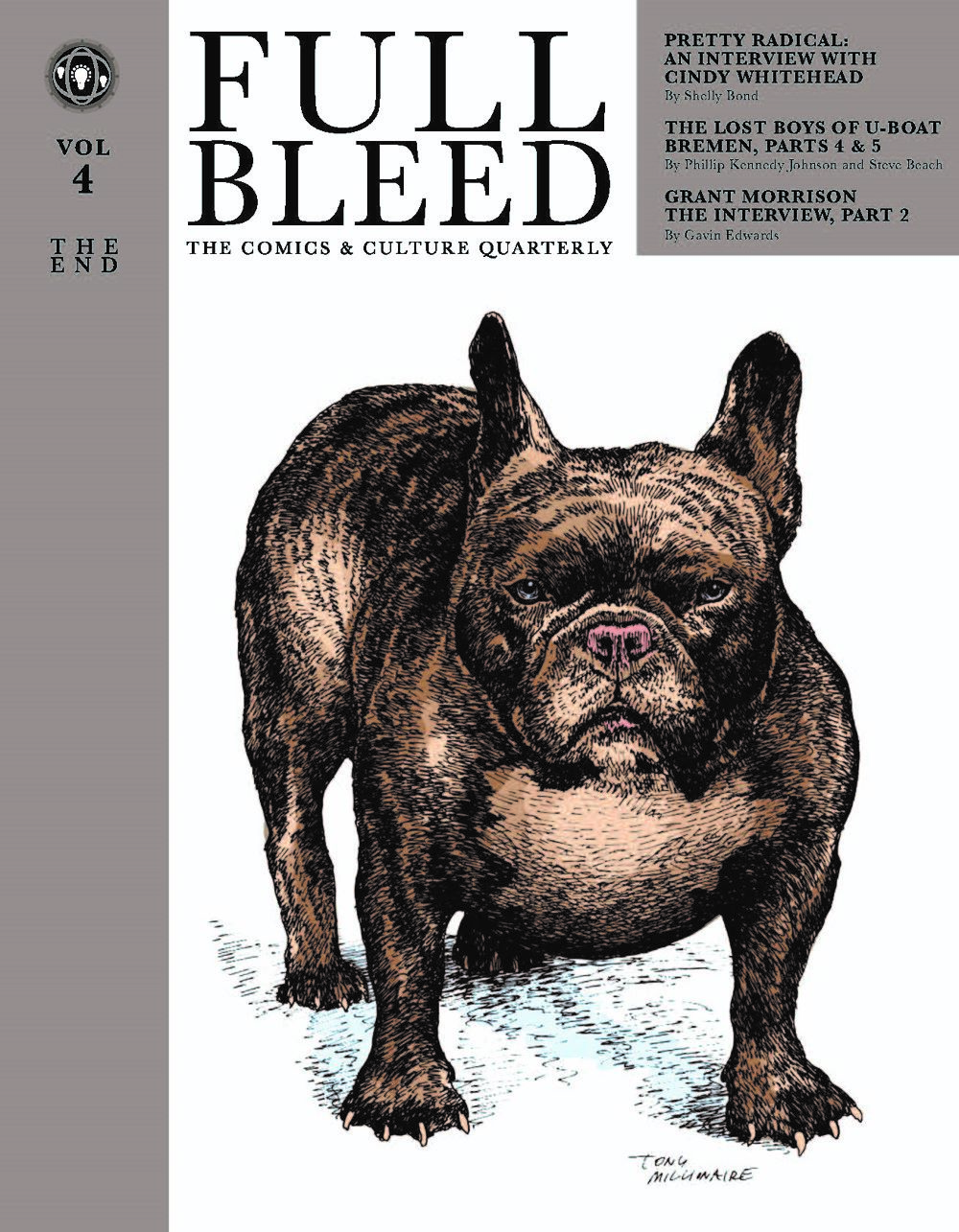 FB_V4_Covers_x2_071920-dragged ComicList Previews: FULL BLEED THE COMICS AND CULTURE QUARTERLY VOLUME 4 THE END HC