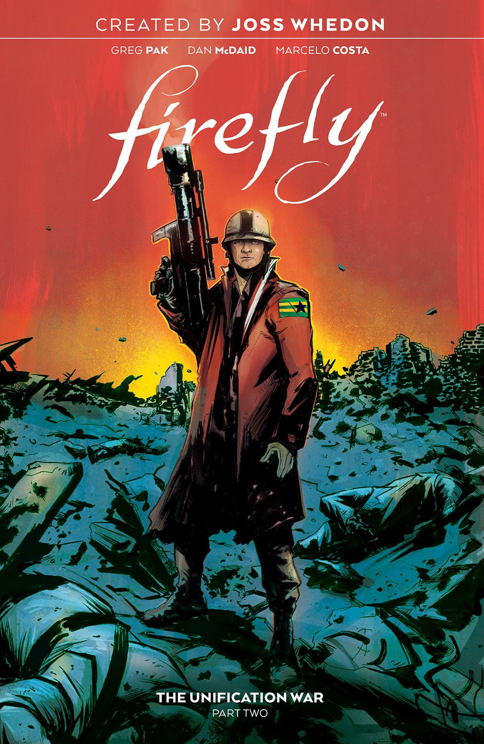 Firefly_UnificationWar_v2_SC_Cover ComicList Previews: FIREFLY THE UNIFICATION WAR VOLUME 2 TP