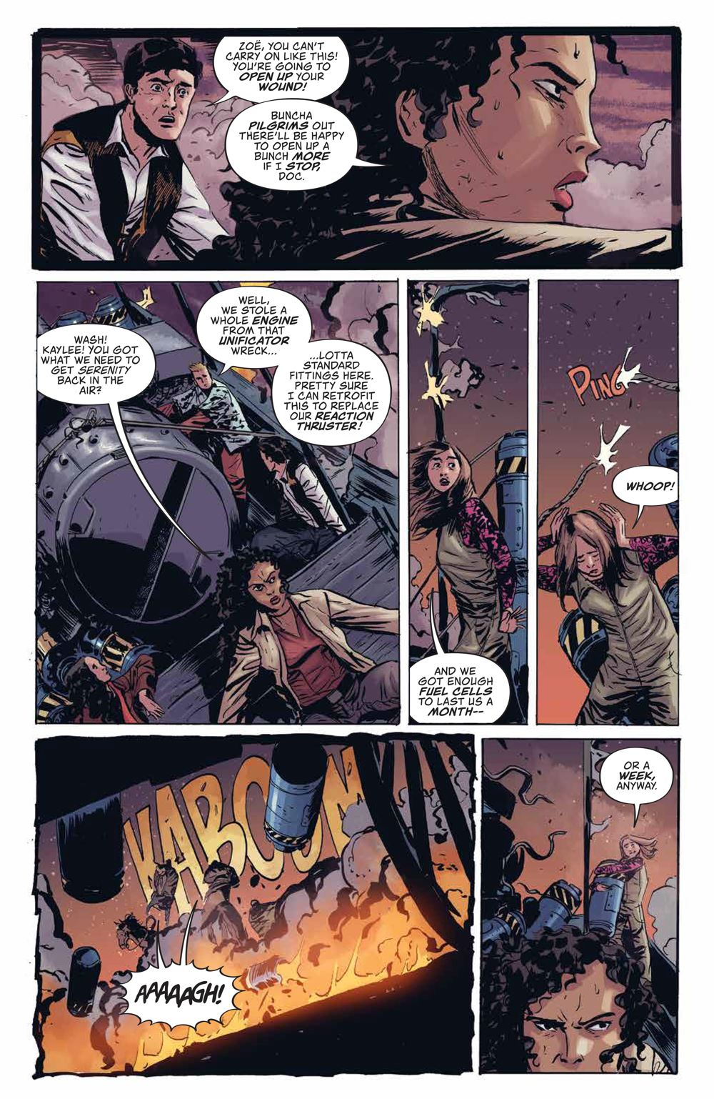 Firefly_UnificationWar_v2_SC_PRESS_10 ComicList Previews: FIREFLY THE UNIFICATION WAR VOLUME 2 TP