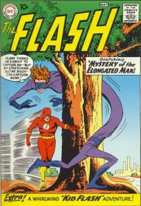 Flash-112-First-Appearance-of-Elongated-Man-205x300 Blogger Dome: Mister Fantastic versus Plastic Man AND Elongated Man