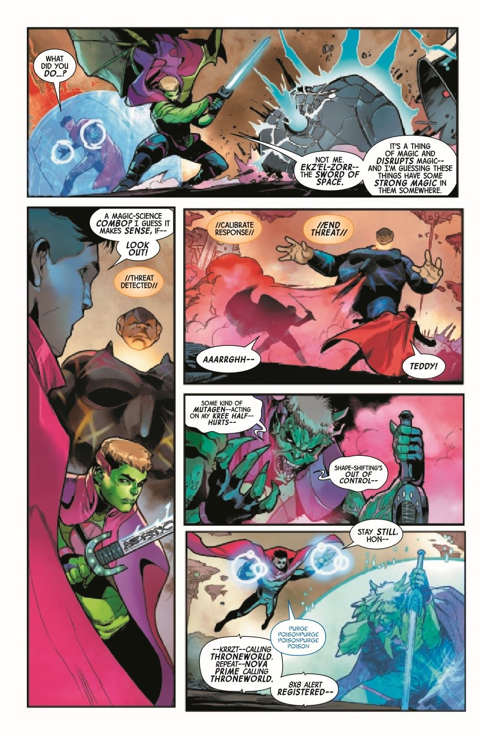 GARGAL2020013_Preview-2 ComicList Previews: GUARDIANS OF THE GALAXY #13