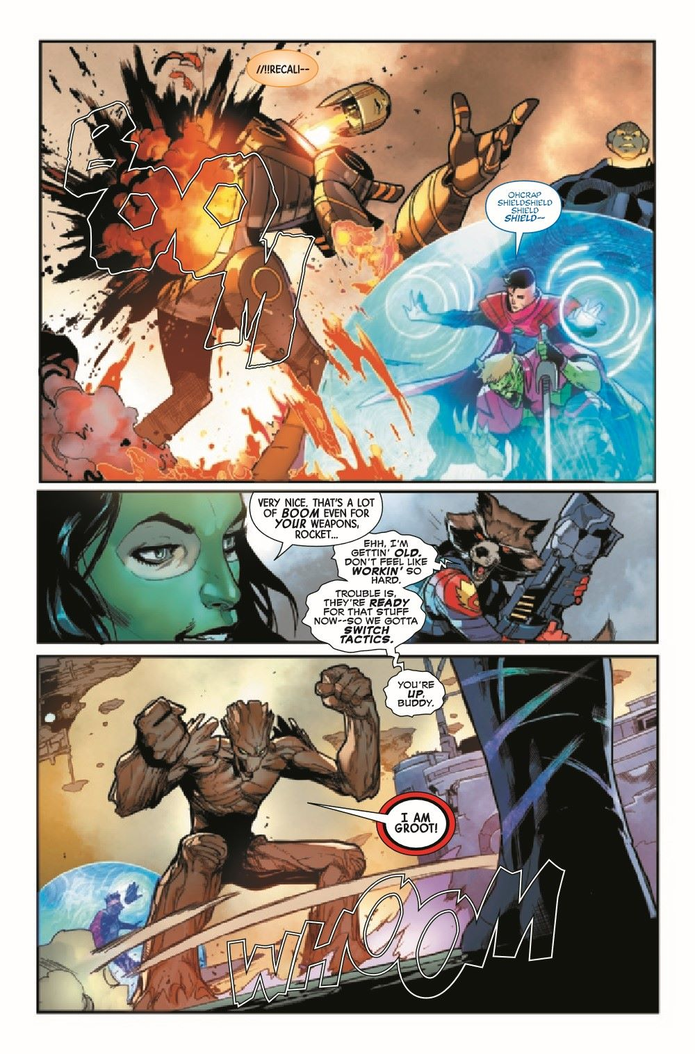 GARGAL2020013_Preview-5 ComicList Previews: GUARDIANS OF THE GALAXY #13