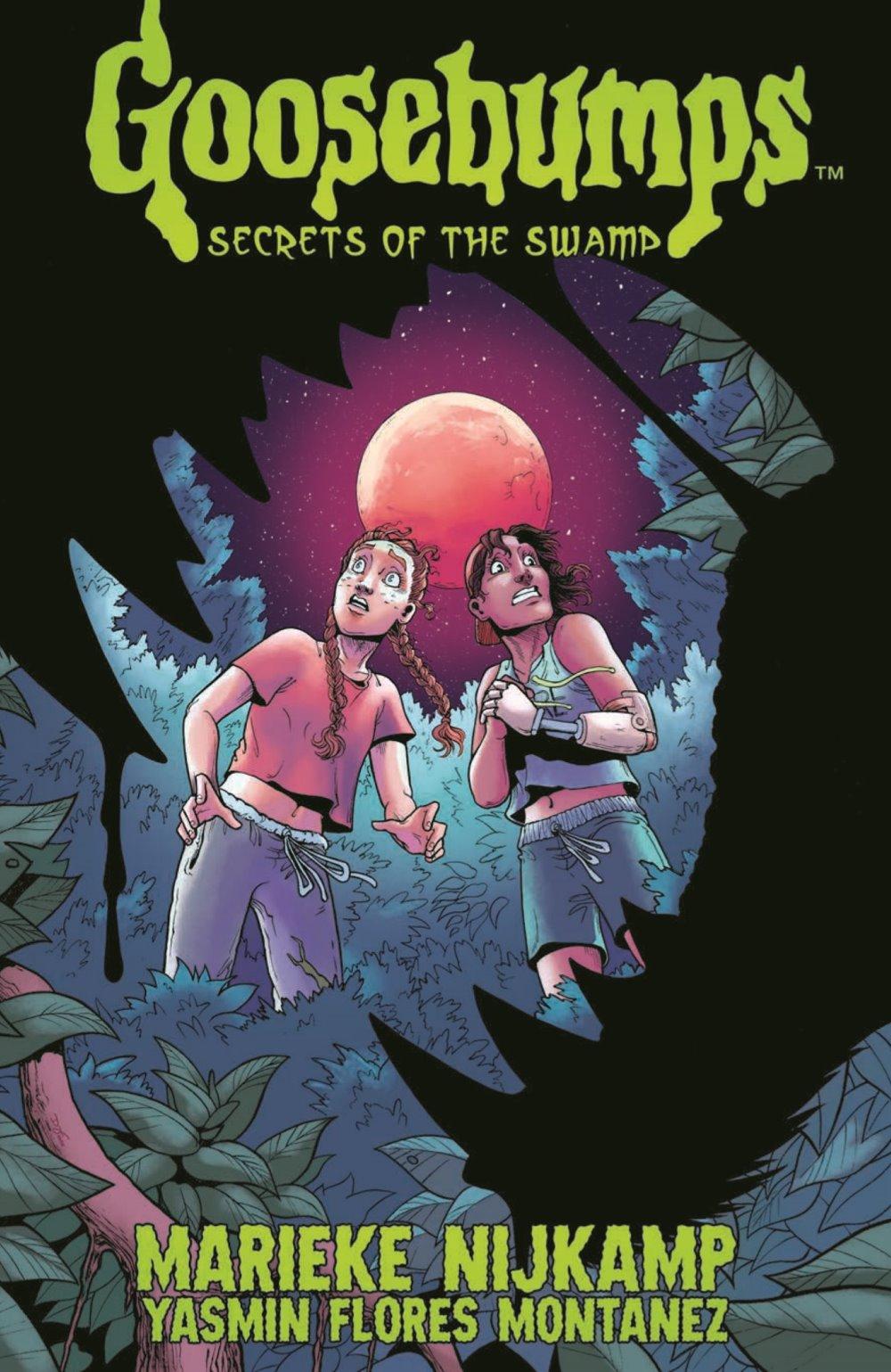 GB_SotS_VOL1_pr-1 ComicList Previews: GOOSEBUMPS SECRET OF THE SWAMP TP