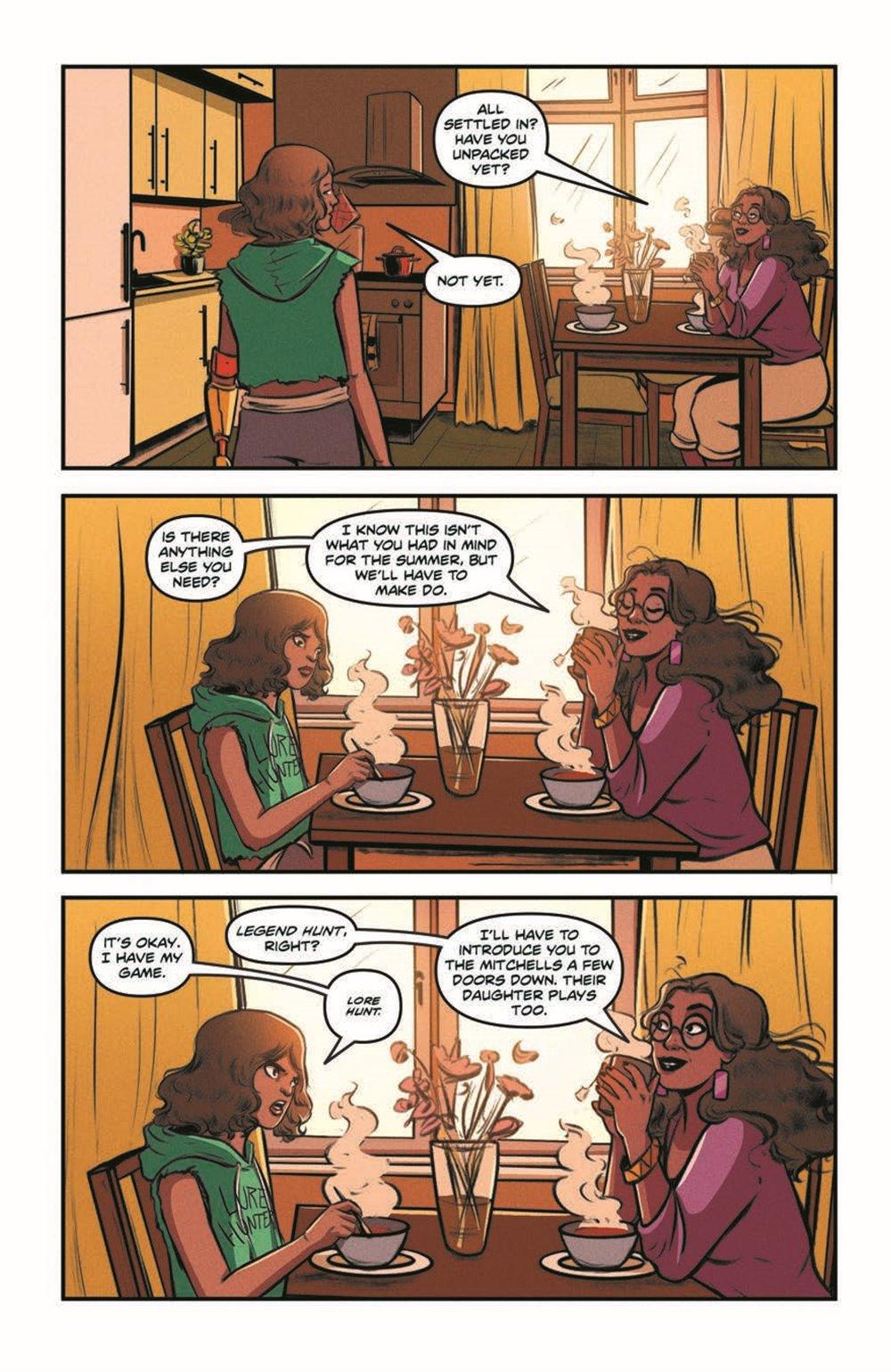 GB_SotS_VOL1_pr-6 ComicList Previews: GOOSEBUMPS SECRET OF THE SWAMP TP
