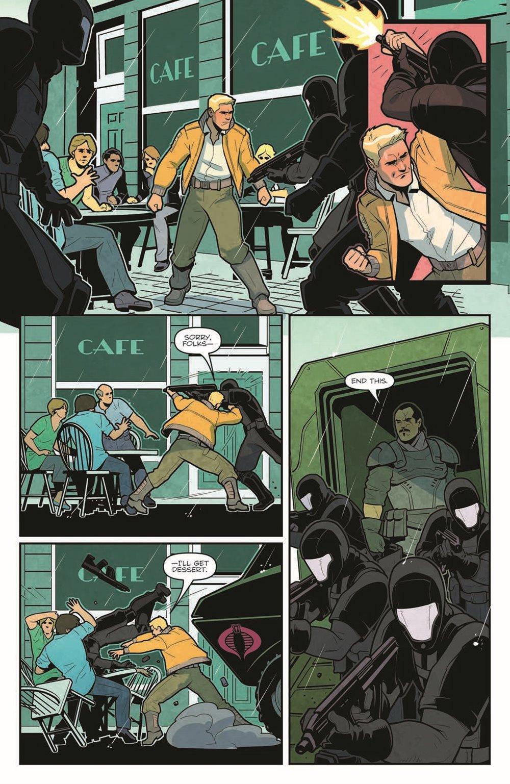 GIJOE_TPB_WoF_pr-6 ComicList Previews: G.I. JOE VOLUME 1 WORLD ON FIRE TP