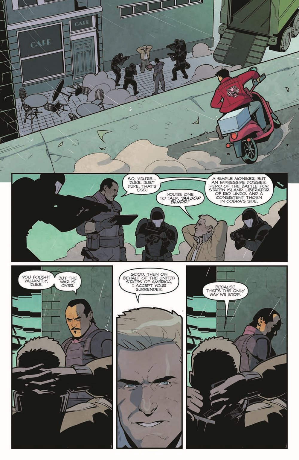 GIJOE_TPB_WoF_pr-8 ComicList Previews: G.I. JOE VOLUME 1 WORLD ON FIRE TP