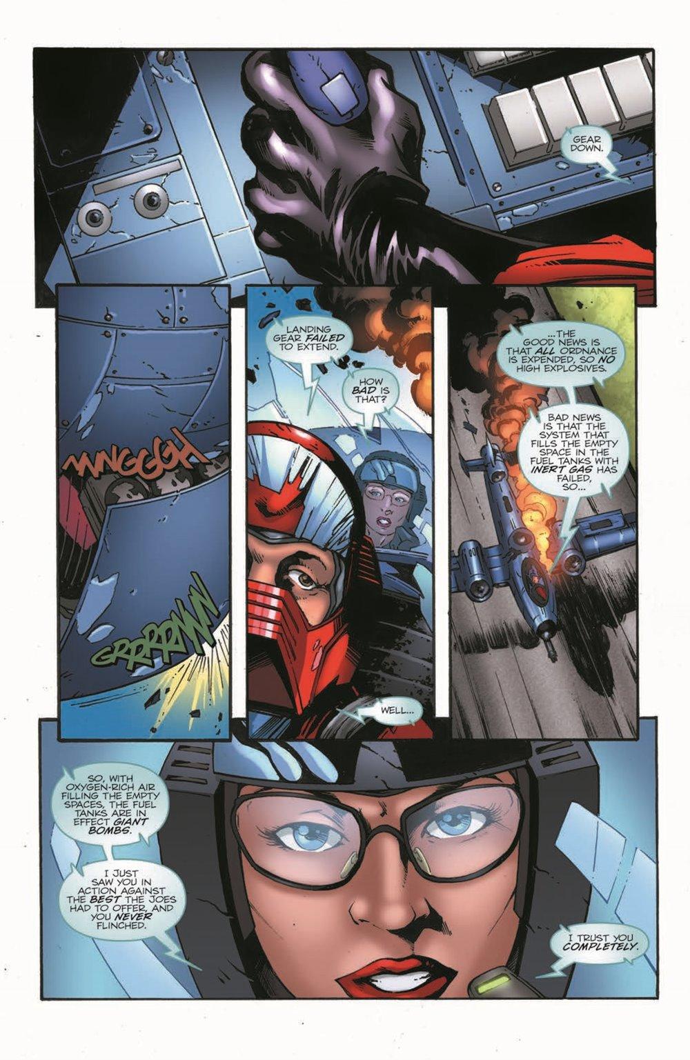 GIJoeRAH280-pr-5 ComicList Previews: G.I. JOE A REAL AMERICAN HERO #280