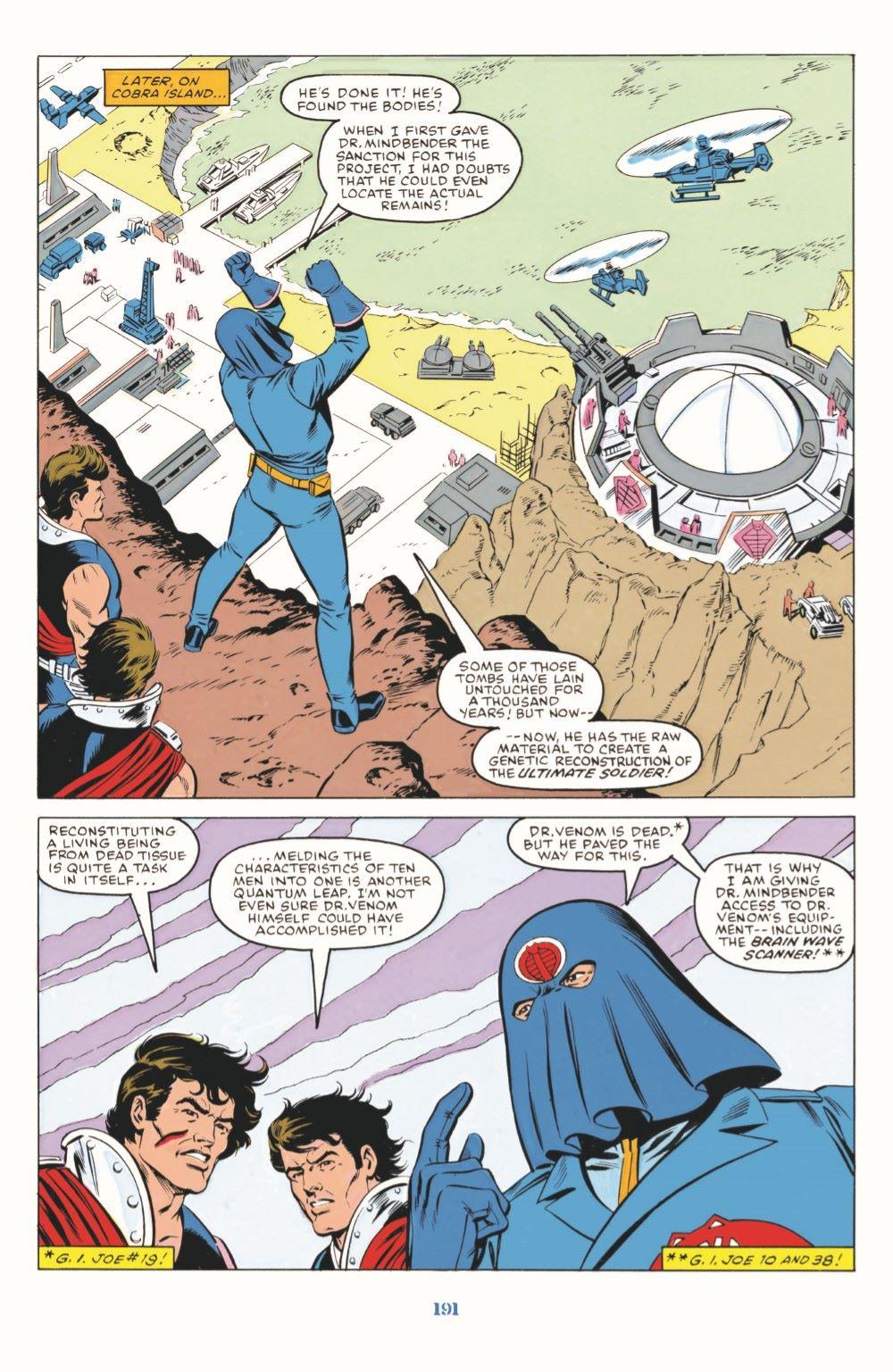 GIJoeRAH_SerpentorUncoiled-pr-06 ComicList Previews: G.I. JOE A REAL AMERICAN HERO SERPENTOR UNCOILED #1