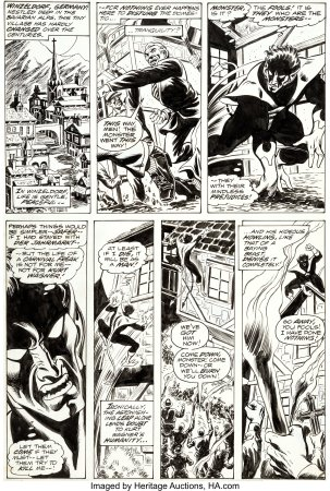 Giant-Size-X-Men-1-Page-2-First-Appearance-Original-Art-Nightcrawler-202x300 First Appearance Original Art Mania: Heritage Auctions