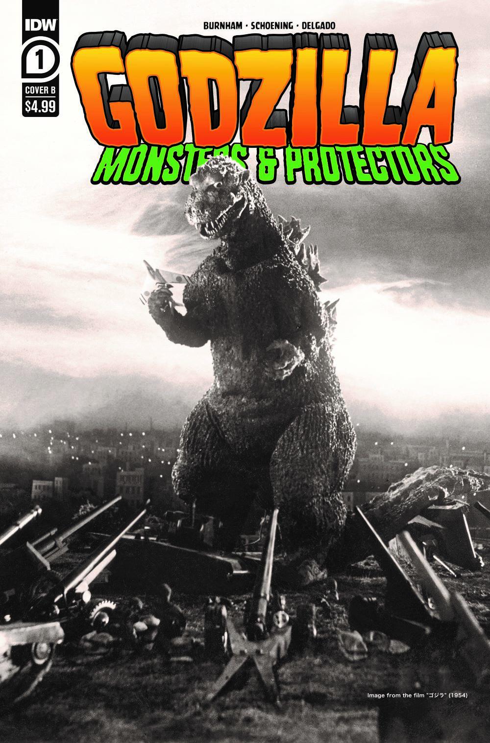 Godzilla_MP01-coverB ComicList Previews: GODZILLA MONSTERS AND PROTECTORS #1 (OF 5)