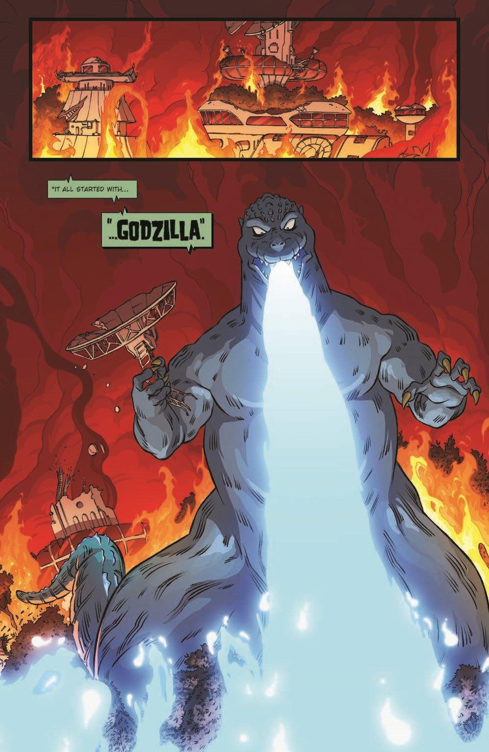 Godzilla_MnP_01_pr-4 ComicList Previews: GODZILLA MONSTERS AND PROTECTORS #1 (OF 5)