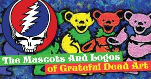 Grateful-Dead-300x157 The Mascots And Logos of Grateful Dead Art