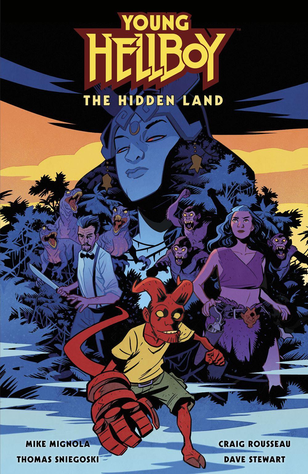 HBYYG_HC_CVR_4x6_SOL Dark Horse Comics July 2021 Solicitations