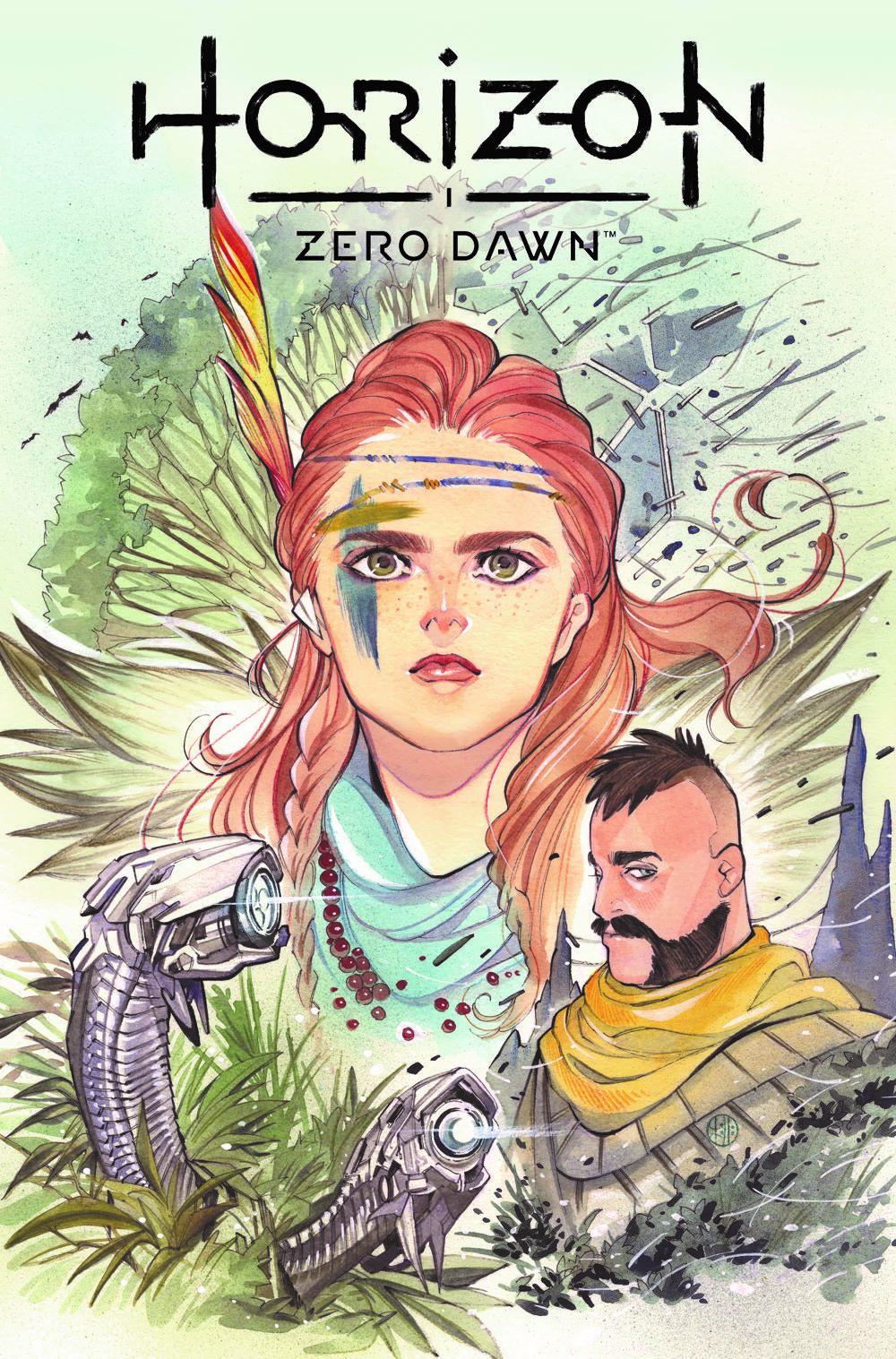 HorizonZeroDawn21_00_CoverA_MOMOKO-1 Titan Comics July 2021 Solicitations