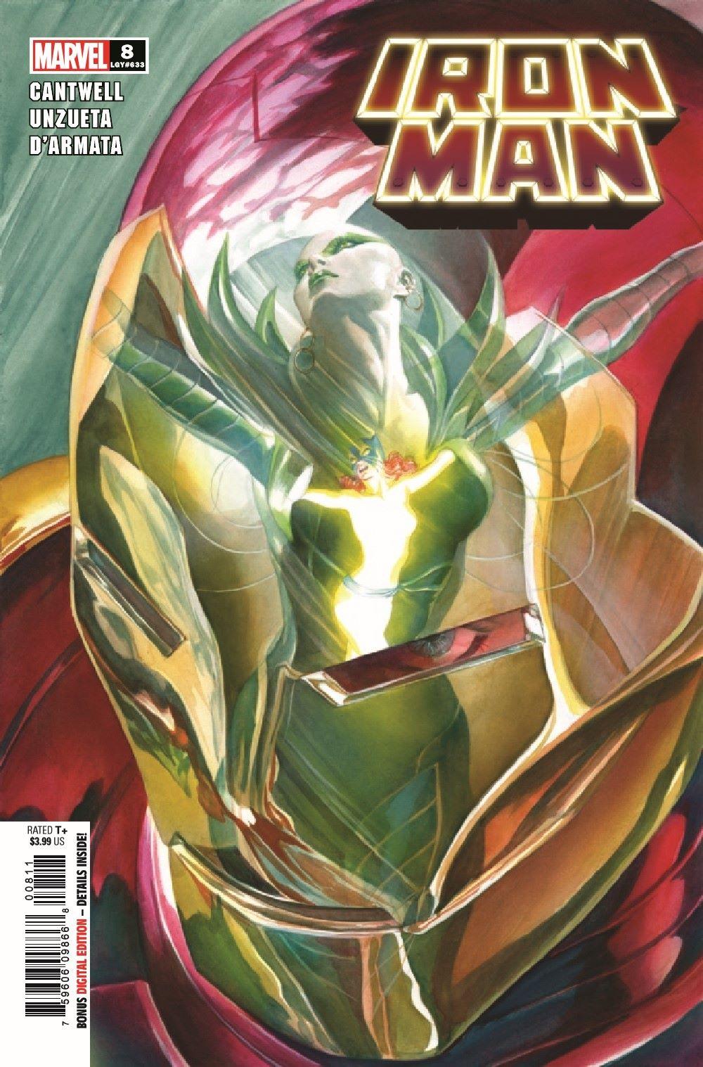 IM2020008_Preview-1 ComicList Previews: IRON MAN #8