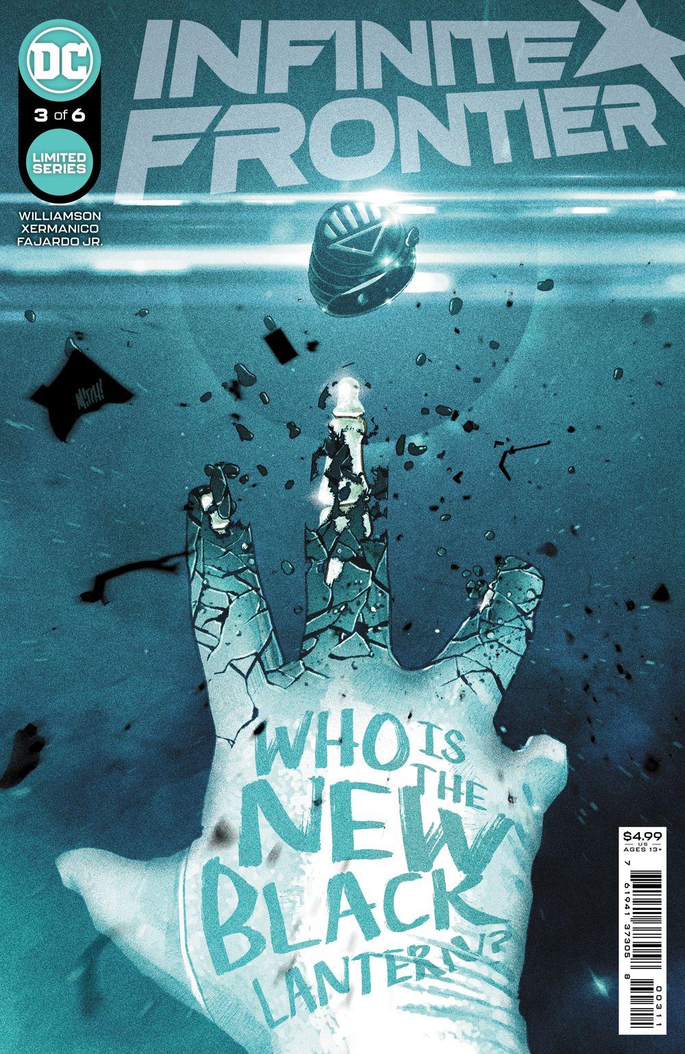 INFINITE_FRONTIER_Cv3 DC Comics July 2021 Solicitations