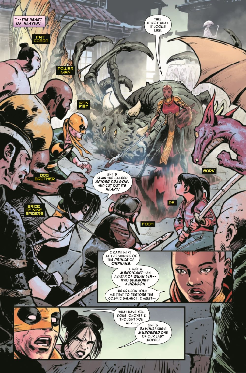 IRONFISTHOD2021005_Preview-3 ComicList Previews: IRON FIST HEART OF THE DRAGON #5 (OF 6)