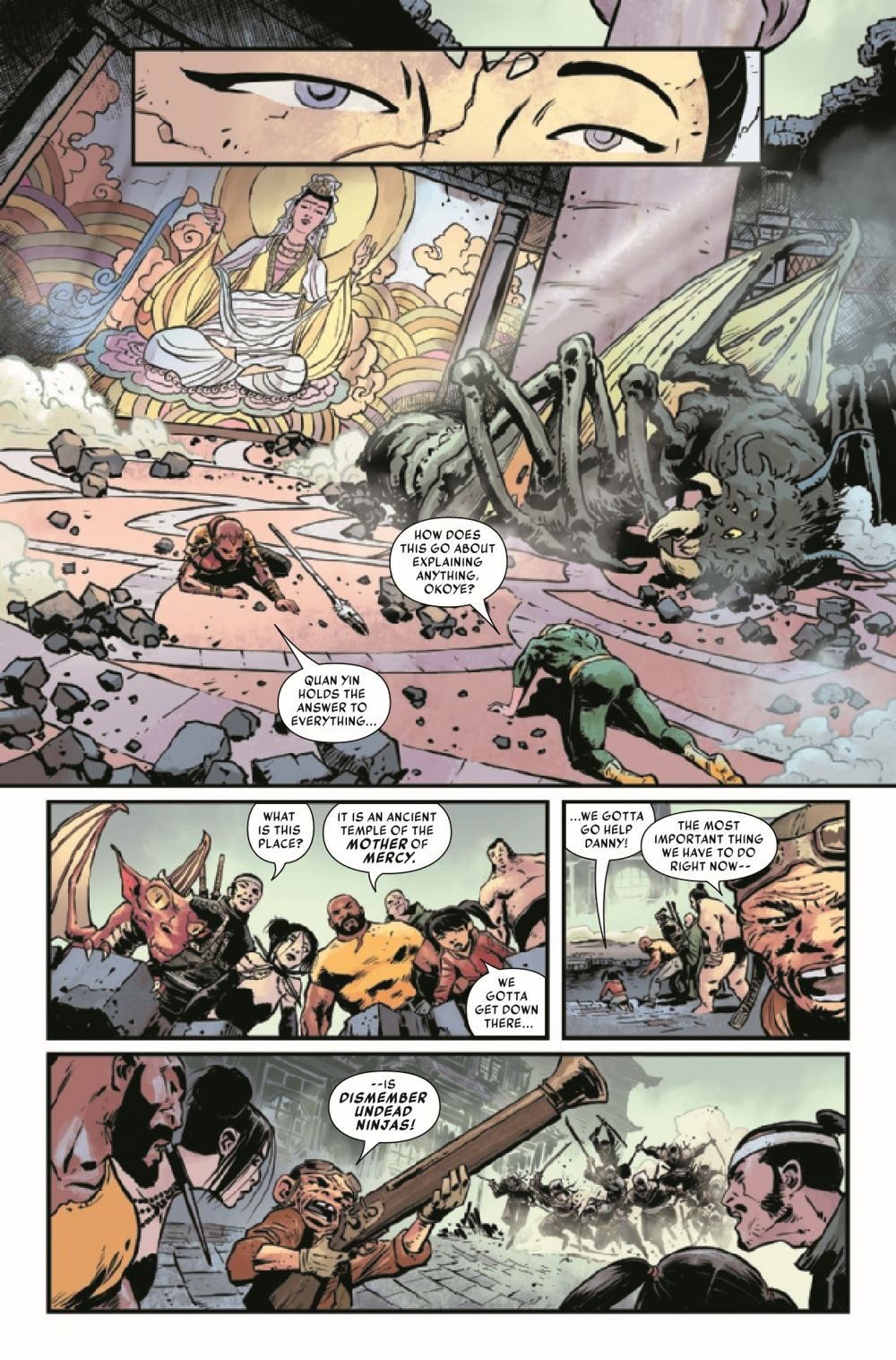 IRONFISTHOD2021005_Preview-6 ComicList Previews: IRON FIST HEART OF THE DRAGON #5 (OF 6)