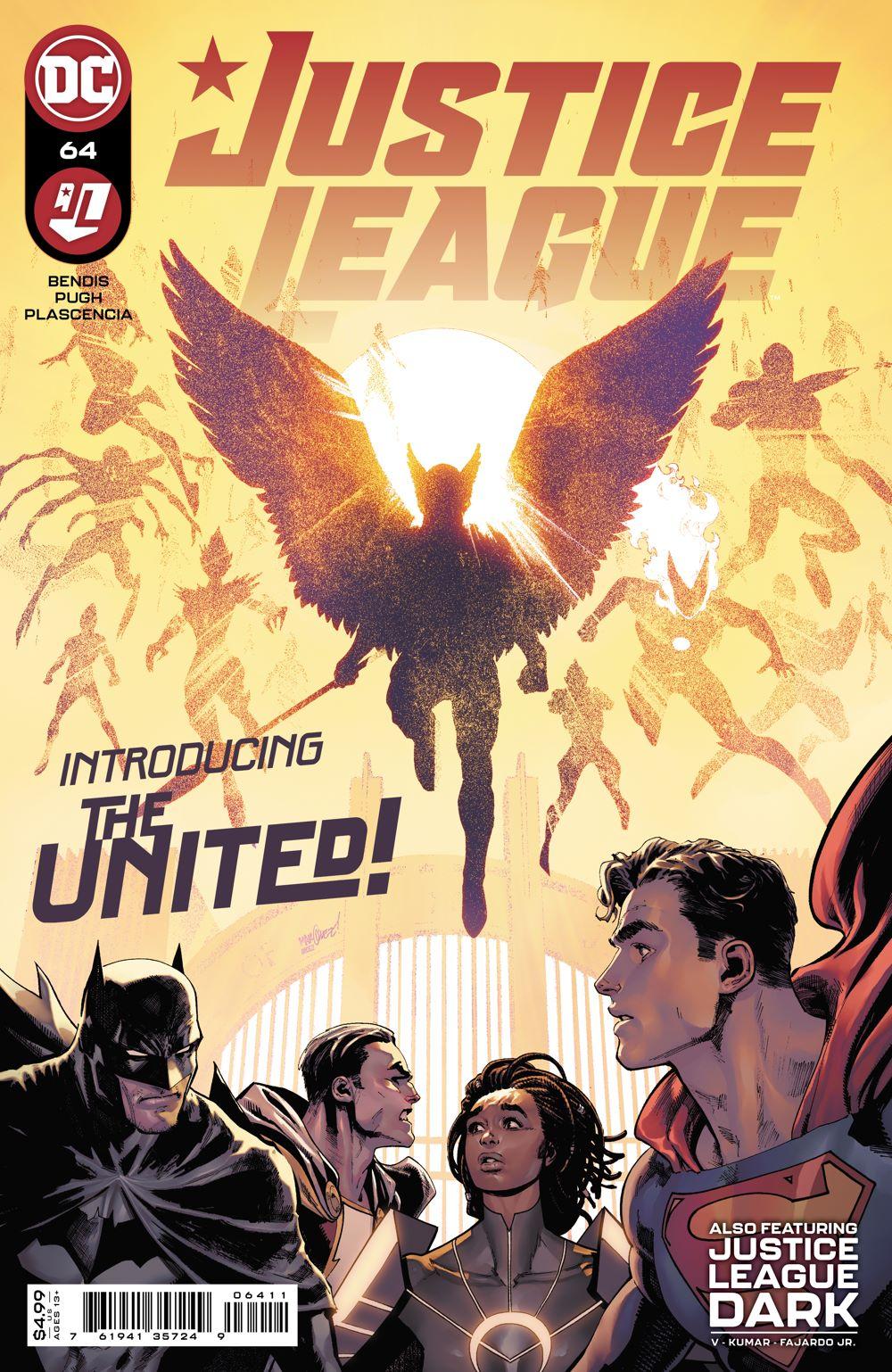 JL_Cv64 DC Comics July 2021 Solicitations