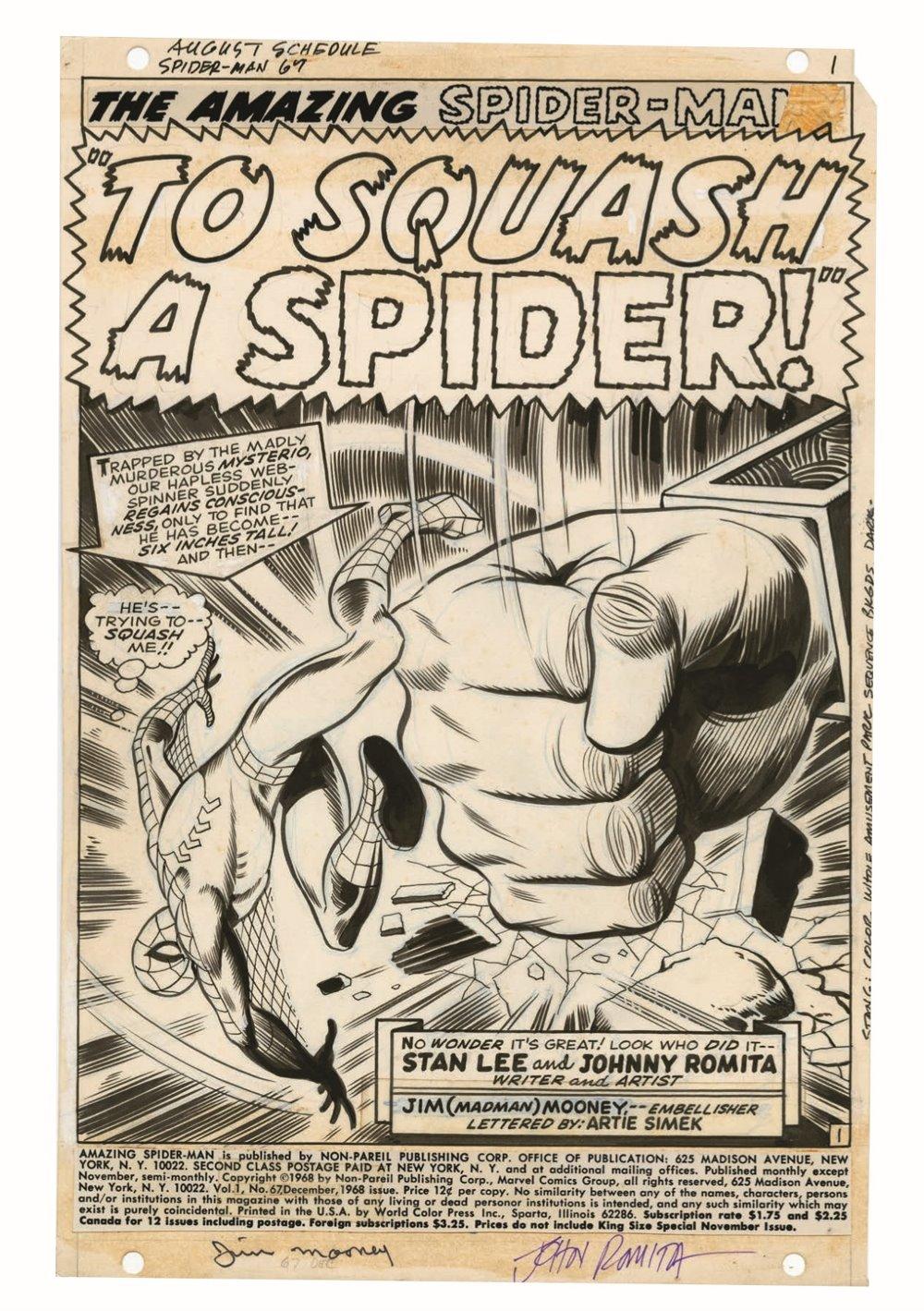 JohnRomita_Spidermand_Artisan_pr-3 ComicList Previews: JOHN ROMITA'S THE AMAZING SPIDER-MAN ARTISAN EDITION TP