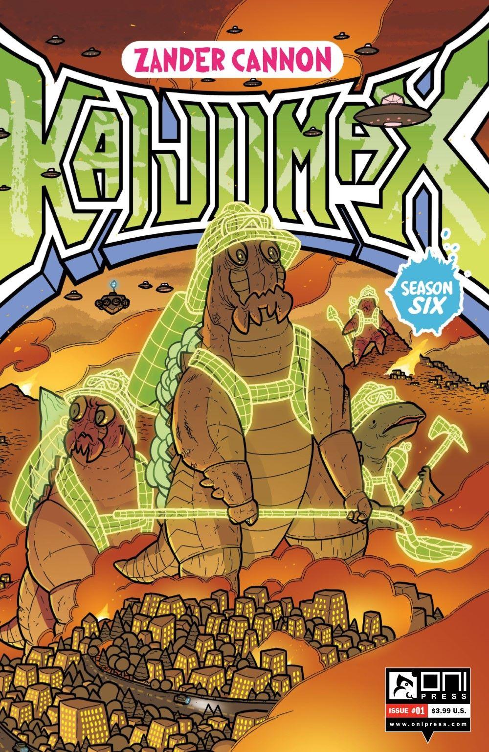 KAIJUMAXV6-1-MARKETING-01 ComicList Previews: KAIJUMAX SEASON SIX #1